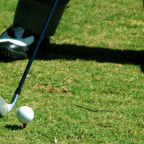 golf feet impact
