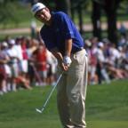 Golfer Chipping