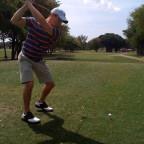 golf swing take-away drill