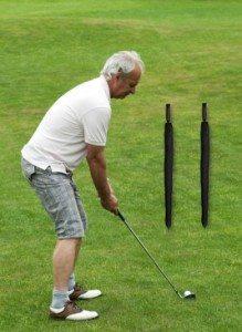 straight golf shot drill